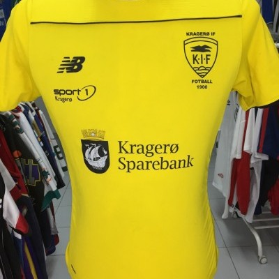 Matchworn Kragero IF Home Shirt (Kids) #6 Norway