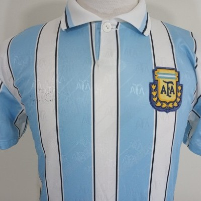 Argentina Home Shirt 1996 (S)