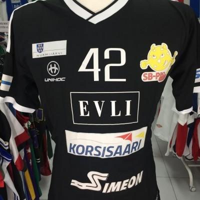 SB Pro Nurmijärvi Floorball Shirt (M) Matchworn Finland
