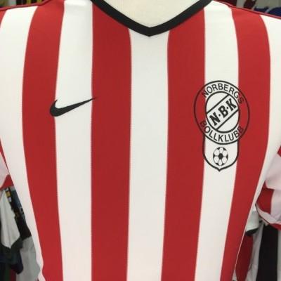 Matchworn Norberg BK Home Shirt (M) #6 Sweden