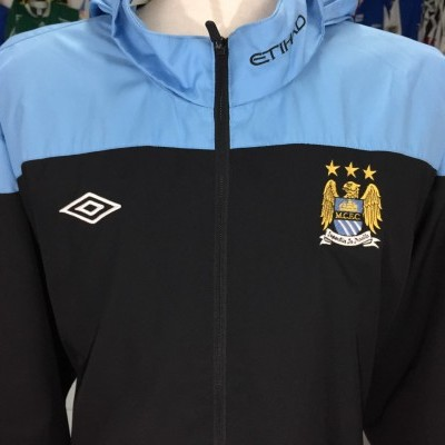 Manchester City Hooded Jacket 2011-12 (3XL)