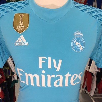 Real Madrid Goalkeeper Shirt 2016-17 (S)