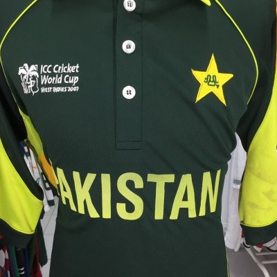 Pakistan Cricket Shirt 2007 (M/L) World Cup