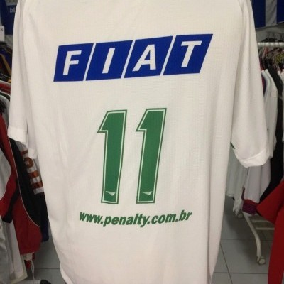 Goias Away Full Kit Shirt + Shorts 2001 (L) #11