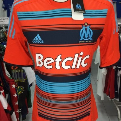NEW OM Olympique Marseille 3rd Shirt 2011-12 (L) Player Version