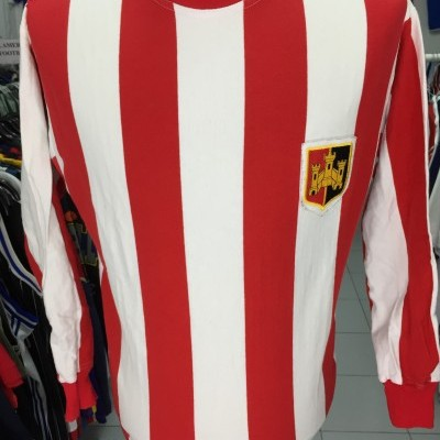 Exeter City Home Shirt 1972 (M) Toffs