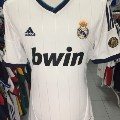 Real Madrid Home Shirt 2012-13 (L) #22 Higuain