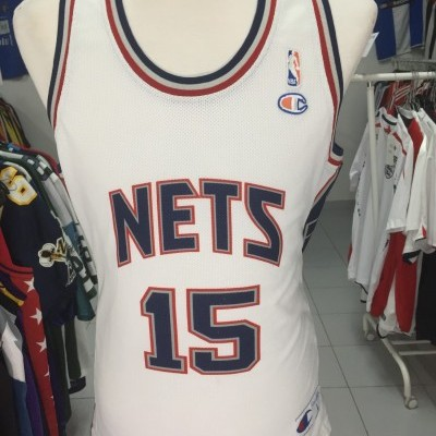 New Jersey Nets Shirt (L) #15 Vince Carter NBA Jersey