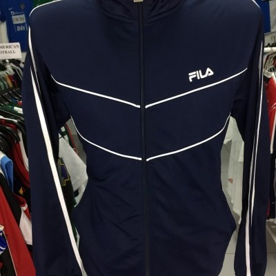 Vintage Track Top Jacket FILA (L) Blue