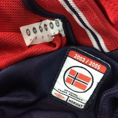 Norway Home Shirt 2003/05 (XL) Reversible