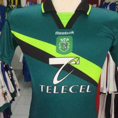 Sporting CP Away Shirt 1999-00 Kids