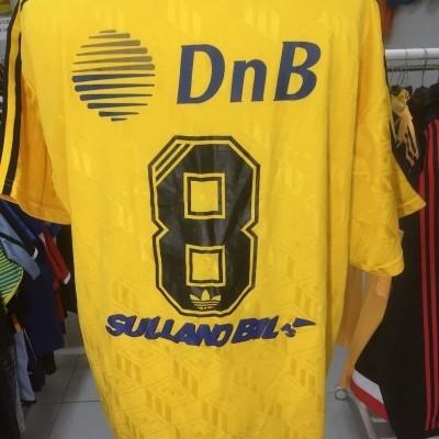Matchworn Raufoss IL Home Shirt 90s (XL) #8 Norway