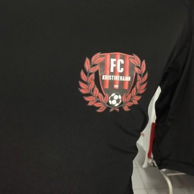 Matchworn FC Kristinehamn Awat Shirt (XXL) #6 Sweden