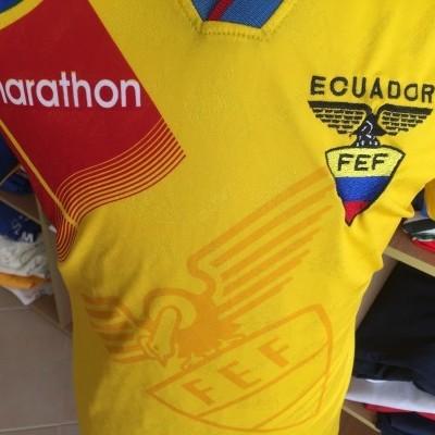 Ecuador Home Shirt 1996/97 (XL)