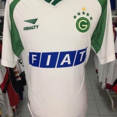 Goias Away Full Kit Shirt + Shorts 2001 (L) #11