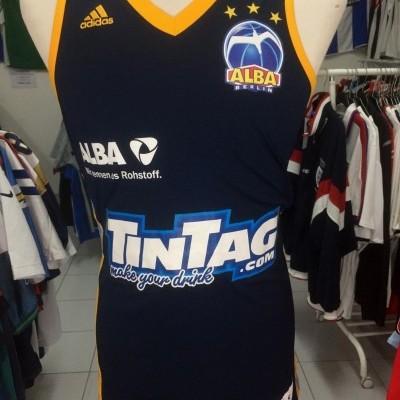 Alba Berlin Basketball Jersey 2014 (S) Adidas Shirt