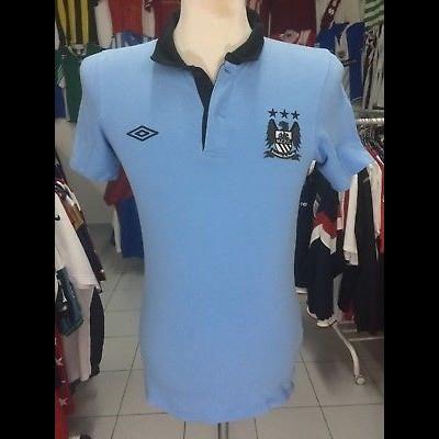 Manchester City Polo Shirt (S)