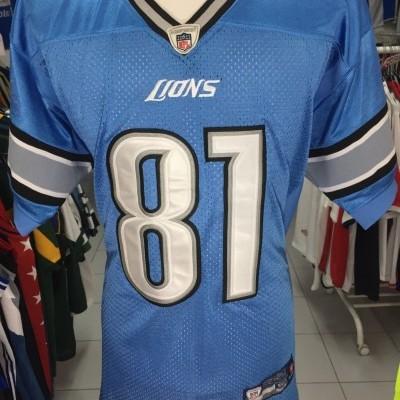 Detroit Lions NFL Shirt (50) #81 Johnson Jersey