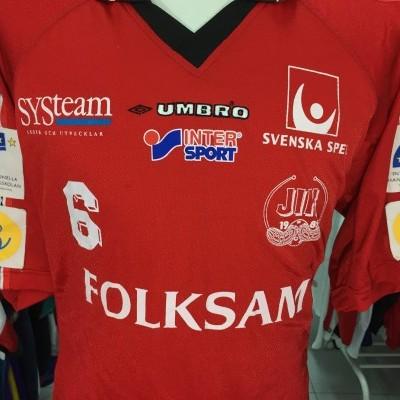 Jönköpings IK Floorball Shirt (XL) Matchworn Sweden