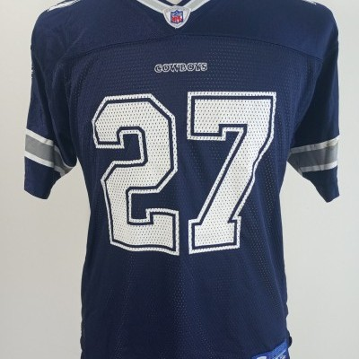 Dallas Cowboys NFL Home Shirt (XL Youths) #27 George Jersey