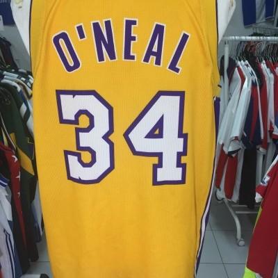 LA Los Angeles Lakers Jersey Shirt (L) #34 O'NEAL NBA