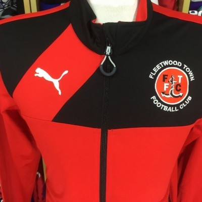 Fleetwood Town FC Track Top (S) Jacket