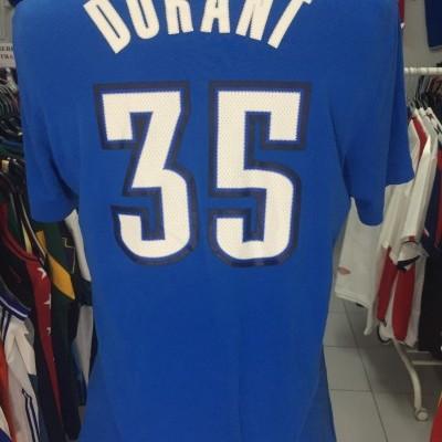 Oklahoma City Thunder T-Shirt (L) #35 Durant NBA