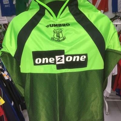 Everton FC Goalkeeper Shirt 1998-99 Kids