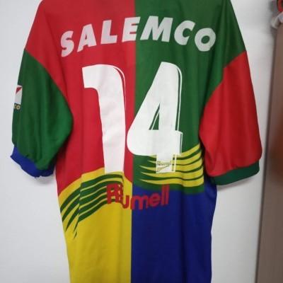 MATCHWORN Portuguesa dos Desportos Cup Shirt 1997 (L) #14