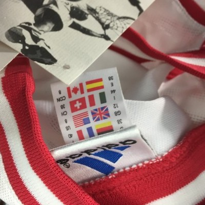 NEW Vintage Adidas Basketball Tank Jersey Womens White Red