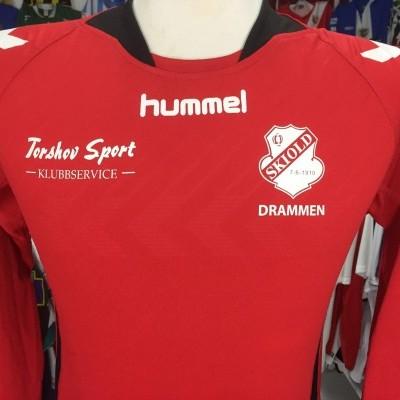 Matchworn Skiold Drammen Home Shirt (S)#18 Norway