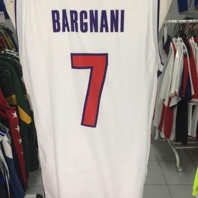 Shirt Jersey Toronto Raptors (M)#7 Bargnani NBA Italy