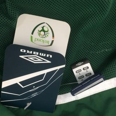 BNWT Republic of Ireland Track Top Jacket (S) Umbro