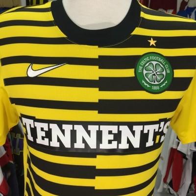 Celtic Glasgow FC Away Shirt 2011-12 (S)