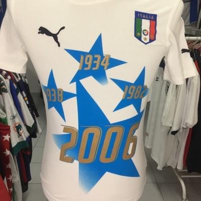 BNWT Italy T-Shirt 2006 World Champions (XS)