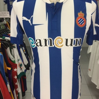 BNWT RCD Espanyol Barcelona Home Shirt 2012-13 (S)