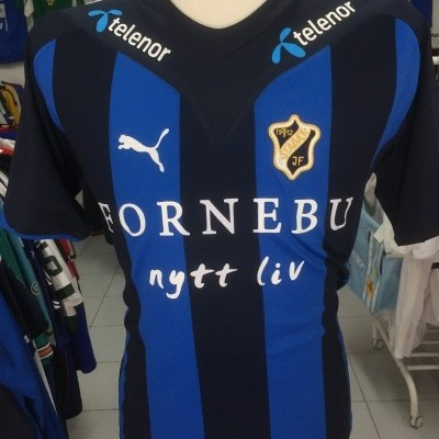 Matchworn Stabaek Home Shirt 2009 (L) #23 Norway