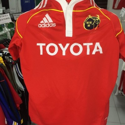 Munster Rugby Home Shirt 2009-10 (S) Ireland