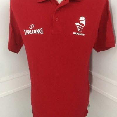 Denmark Basketball Polo Shirt (M)