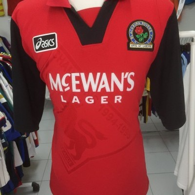 Blackburn Rovers Away Shirt 1995-96 (XL)