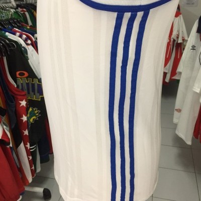 NEW Vintage Adidas Basketball Tank Jersey Womens White Blue