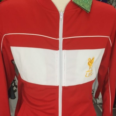 NEW Liverpool FC Tracksuit Top Jacket 1982 (L) Score Draw
