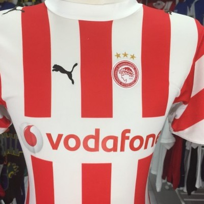 Olympiakos Home Shirt 2006/07 Kids