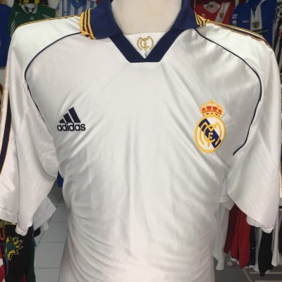 Real Madrid Home Shirt 1998-00 (XL)