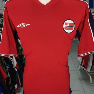 Norway Home Shirt 2003/05 (XL) Reversible