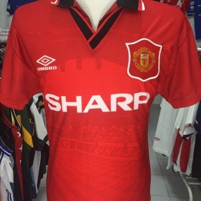 95f6395c2 Manchester United Home Shirt 1994-96 (S) ...
