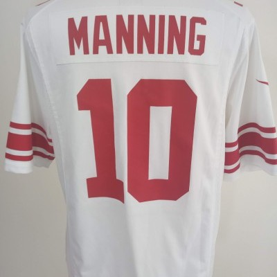 New York Giants NFL Shirt (L) #10 Manning Jersey