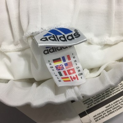 NEW Vintage Adidas Basketball Shorts Womens White Red