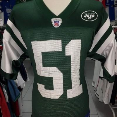 New York Jets NFL Shirt (M) #51 Vilma Jersey