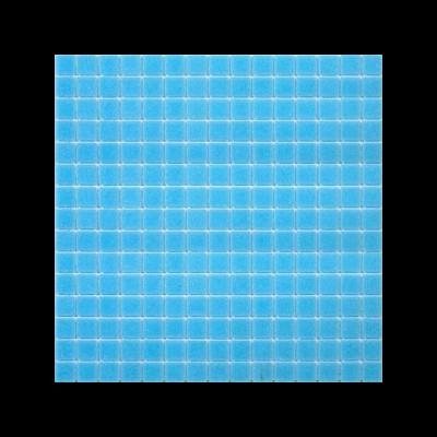 Pastilha vitrificada, azul turquesa médio A13